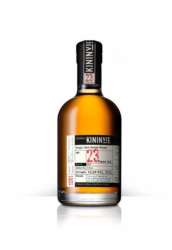 Kininvie 23 Years Old Batch 3 Bottle