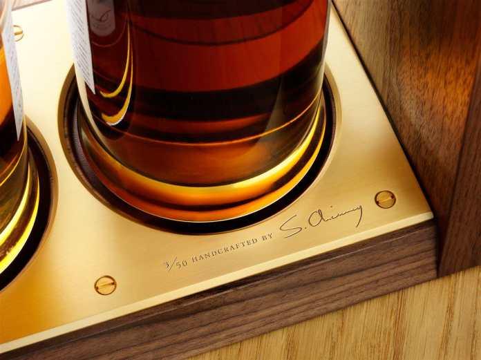 Individuelle Gravur auf jedem einzelnen Whisky-Set