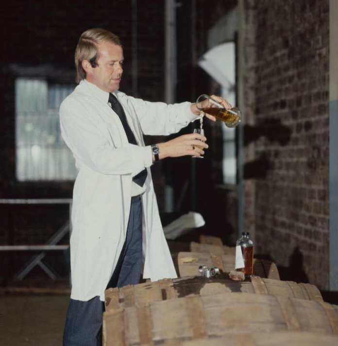 The Balvenie Malt Master David Stewart zu Beginn seiner beispiellosen Karriere