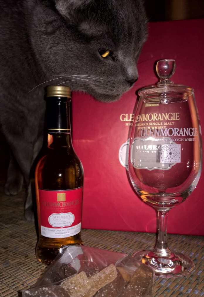 der Glenmorangie Milsean - ein wunderschöner Whisky für Naschkatzen