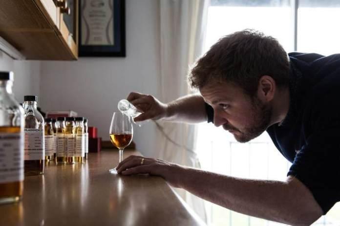 Adam Hannett, Master Blender Bruichladdich. Bild: Bruichladdich