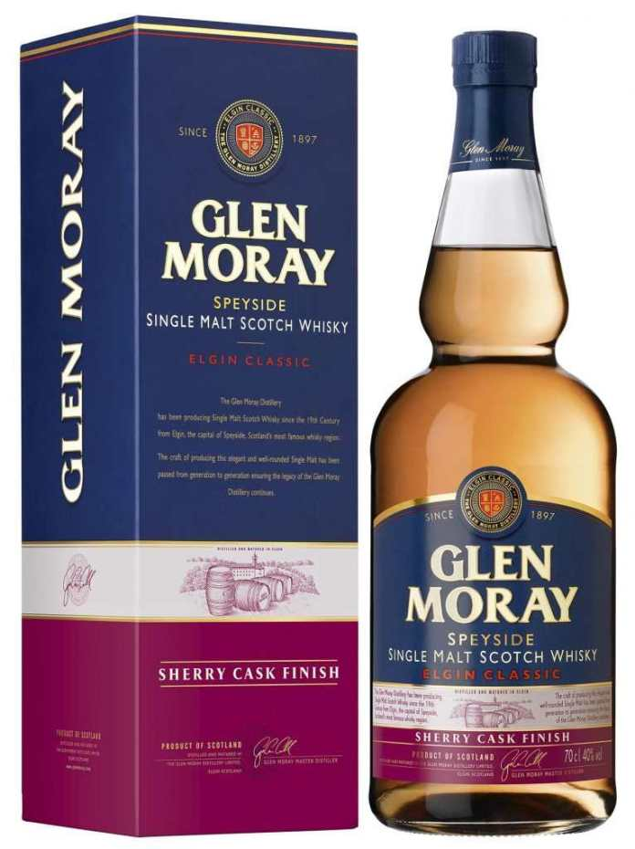 glen moray sherry cask finish