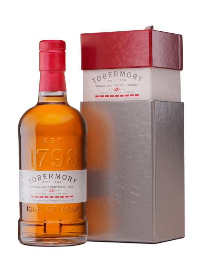 Tobermory 20yrs with Box kleiner