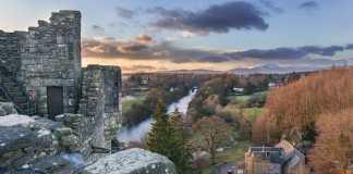 Doune Castle und River Teith. Bild: Marcel Freudenstein