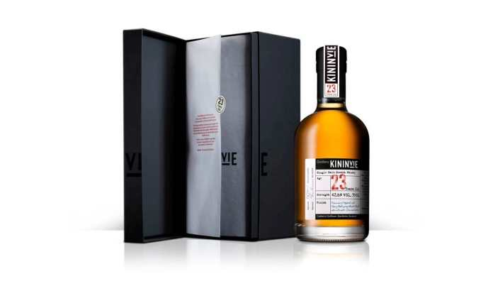 Kininvie_23 Year Old_Signature Expression_Bottle and Box