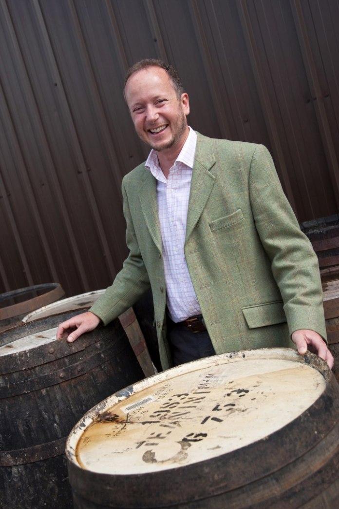 Alex Bruce, sein Urgroßenkel, Master of The Quaich und Managing Director der Adelphi Distillery Ltd. sowie der Ardnamurchan Distillery. Ltd (Copyright: Fusion Whisky Ltd; Picture: Tina Norris)