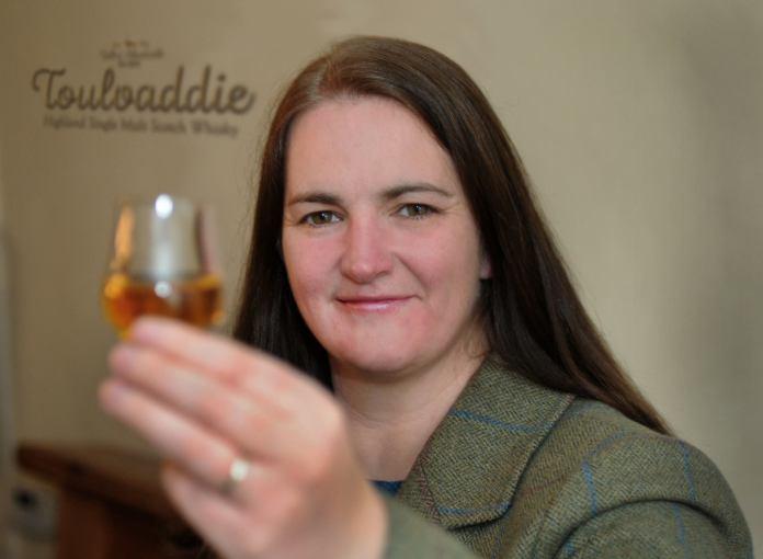 Heather Nelson, Managing Director. Bild: Toulvaddie Distillery