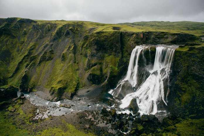 waterfalltext