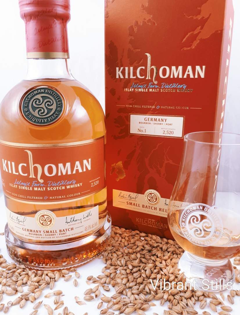 Pr Kilchoman Germany Small Batch No 1 Port Cask Influenced