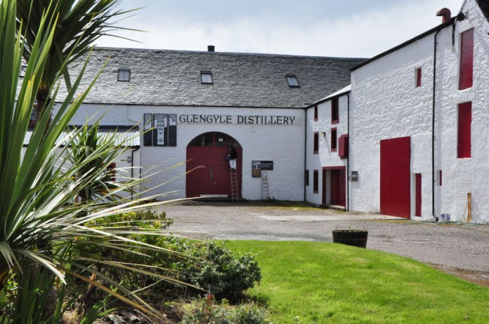 Glengyle Distillery in Campbeltown