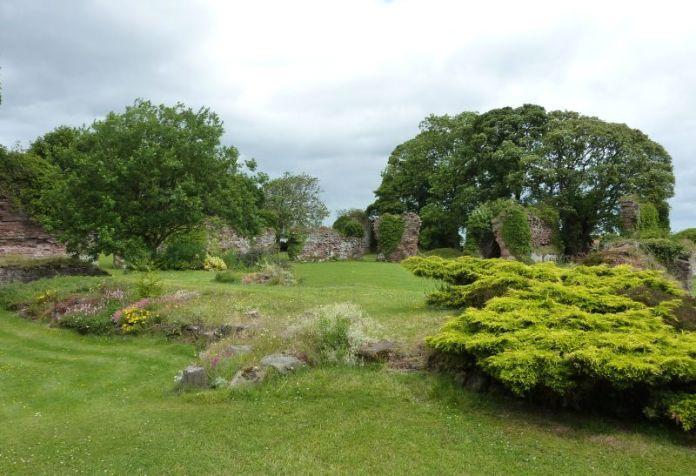 Lindores Abbey, die Geburtsstätte des schottischen Whiskys. Bild von Bubobubo2, GNU-Lizenz