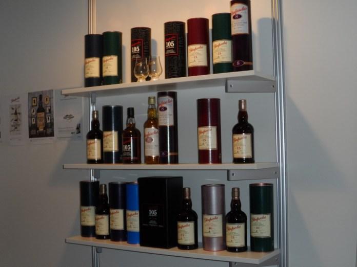 Ein Blick auf einige Flaschen der Glenfarclas-Range