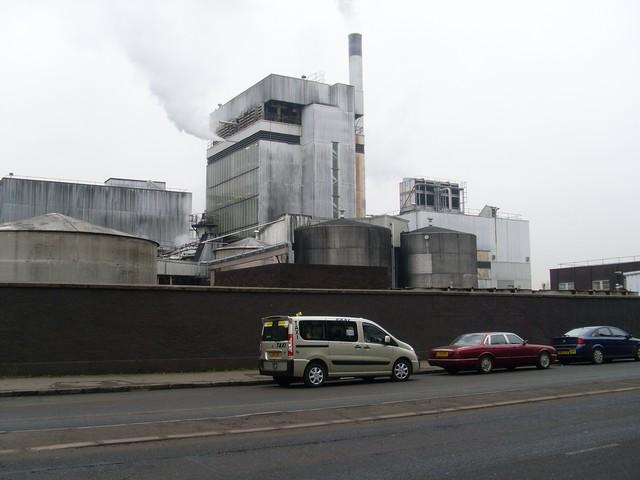 Strathclyde Geain-Distillery - auf diesem Gelände stand die Destillerie Kinclaith. Foto von Stephen Sweeney, CC-Lizenz