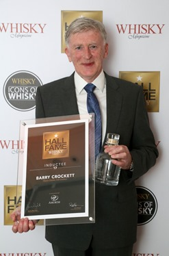 BARRY CROCKETT - 17TH INDUCTEE INTO THE  WHISKY MAGAZINE HALL OF FAME