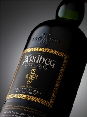 Ardbeg Kildalton bottle