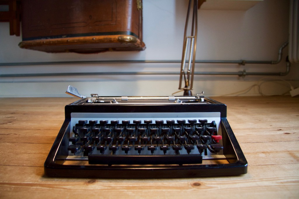 Underwood, set fra front