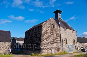 The dismantled Convalmore Distillery in Dufftown