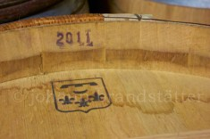 Bordeaux wine cask