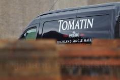 Tomatin Distillery van