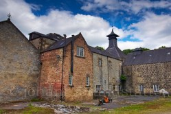 The silent Parkmore Distillery