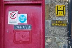 Office door, Parkmore Distillery
