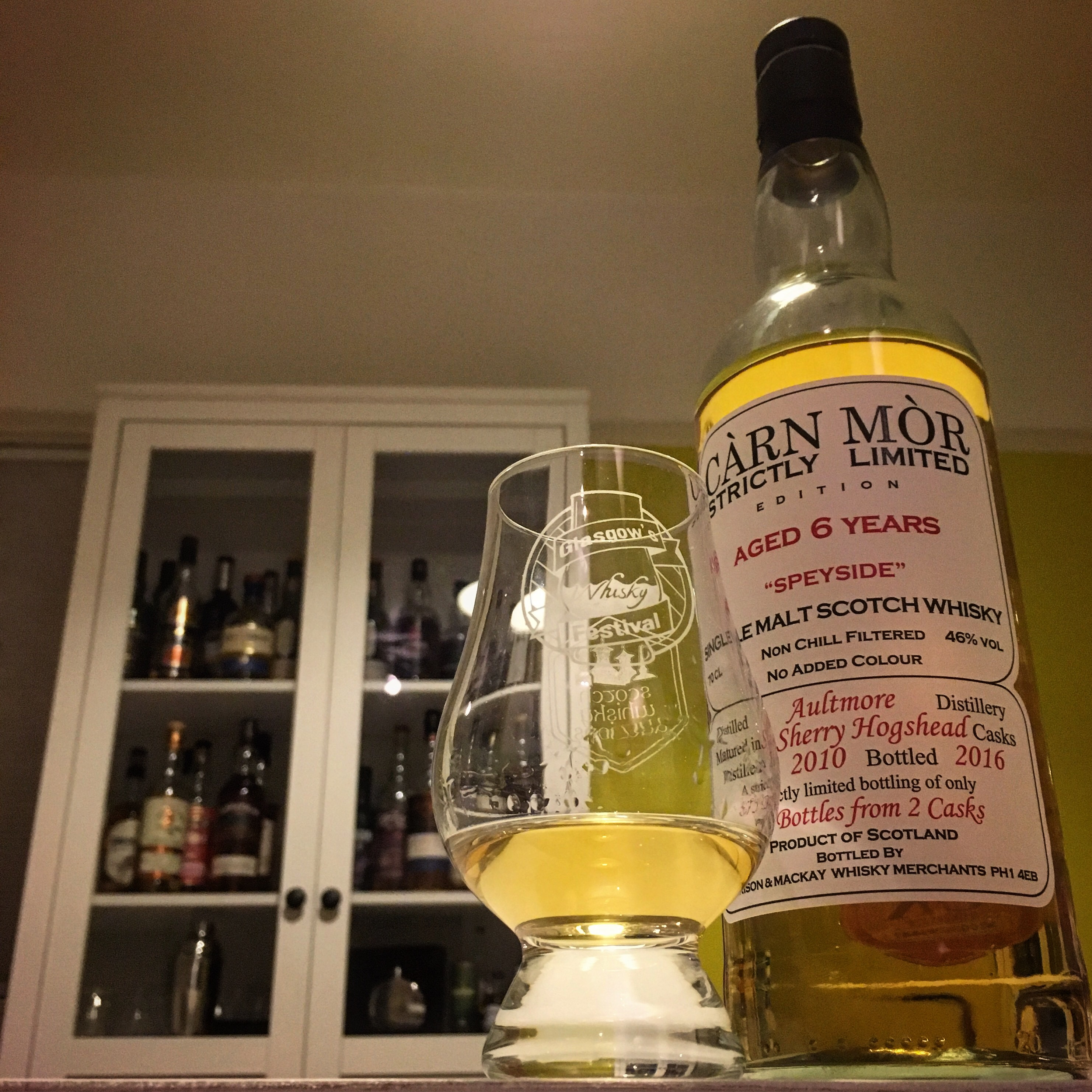 Carn Mor Aultmore 6 Year Old – Whisky Reviews