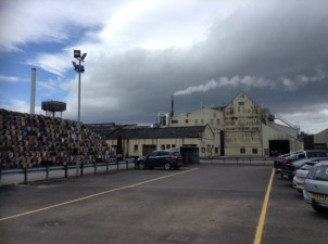Invergordon Distillery in all its industrial glory