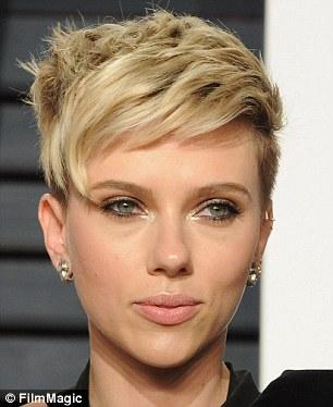 Scarlett Johansson new haircut