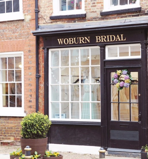 Outside of Woburn Bridal