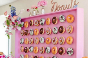 Candy donut wall