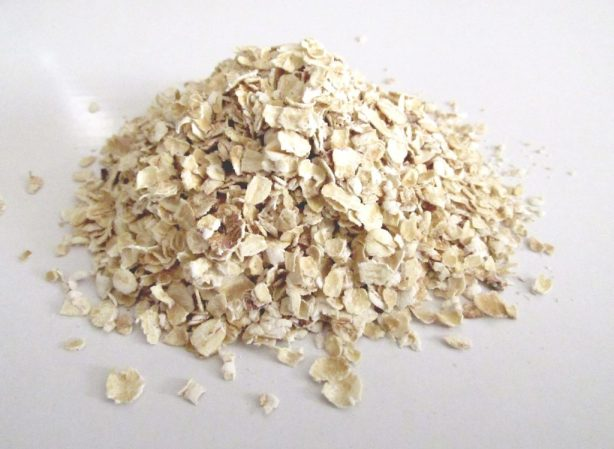 Make this organic oatmeal mask. Simple and will make your skin soft!
