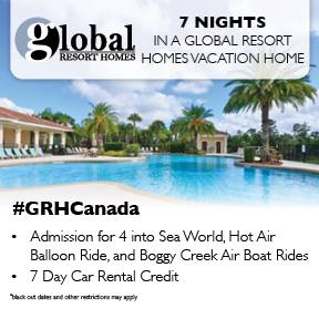 Global Home Resorts Giveaway