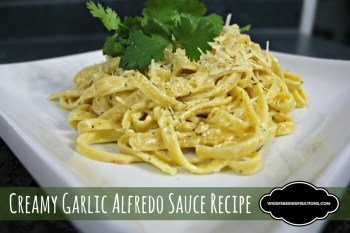 How to Make Creamy Alfredo Sauce: Add Your Favorite Pasta and You Are Good to Go! #recipe