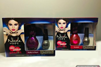 Selena Gomez Nicole by OPI Holiday Gift Sets: Get Ready for Very Merry Holiday Looks! #naildesign