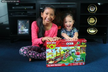 Angry Birds GO! TELEPODS: Racing with The Pig Rock Raceway Set & FLASH Giveaway from HASBRO! #gaming