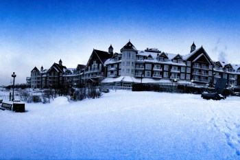 Blue Mountain Resort: It's Bigger and Better with Snowboarding, Snowshoeing, Dining, Shopping and So Much More! #biggerblue