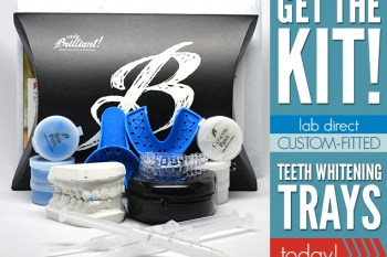 Smile Brilliant: Custom Fitted Teeth Whitening Trays Made for YOU. Enter to Win a Kit, ARV of $100. Let's See Those Pearly Whites! #beauty