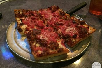 Buddy's Pizza in Dearborn, Michigan: Enjoying Detroit's Original Square Pizza! #travel #EcoTravelwithadoba