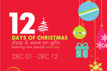 12 Days of Christmas with Limeapple: Shop and Save for Gifts with New Specials Everyday! #LimeappleLove