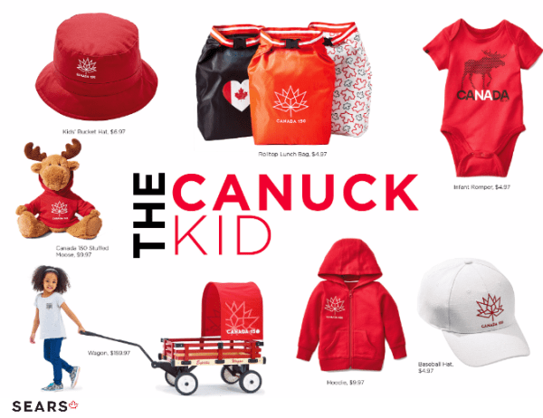 Everything You Will Need to Celebrate Canada's 150th Birthday in Style! #GotItAtSears