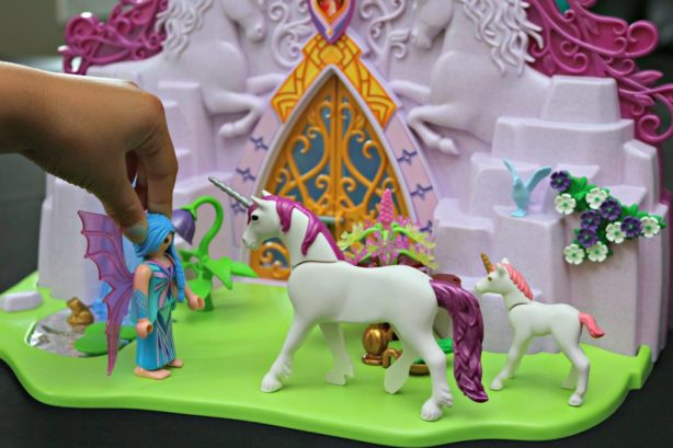 PLAYMOBIL Take-Along Sets: Fairy Unicorn Garden & My Take-Along Farm + Giveaway!