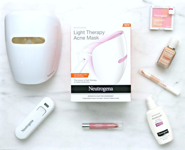 The Secret to Clear Skin is Easier Than You Think with This Neutrogena Light Therapy Mask. #MaskYoSelf