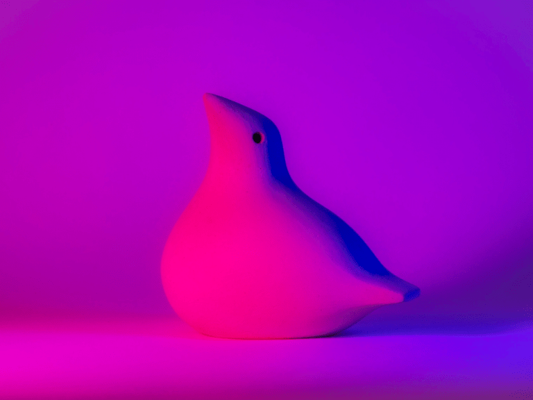 Press moulded dove