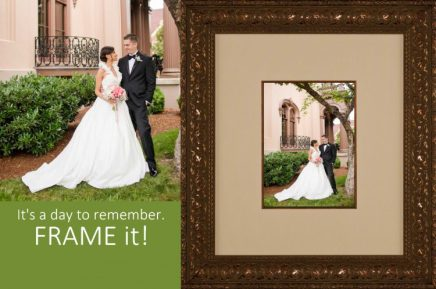 Frame your Wedding images and enjoy every day!