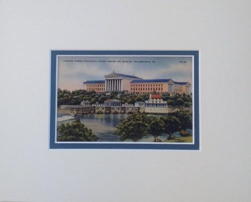 Philadelphia Art Museum Vintage Postcard $22