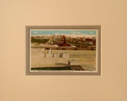 Philadelphia Skyline and Parkway Vintage Postcard $22