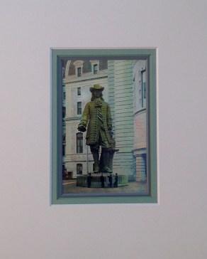 William Penn Statue Vintage Postcard $22