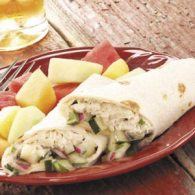 Tuna Salad Wraps from Taste of Home