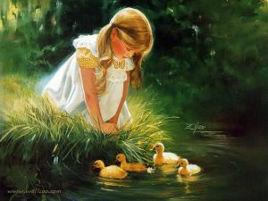 painting_children_childhood_kjb_DonaldZolan_14GoldenMoment_sm