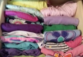konmari children shirts